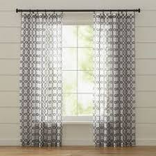 Crate And Barrel Curtains Matte Nickel 1 25