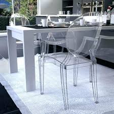 Clear Plastic Chair Covers Extraordinary Clear Plastic Dining Room Chair Covers Photos Best