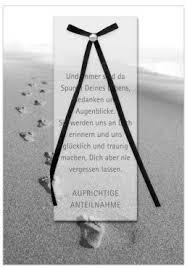aufrichtige anteilnahme spr che trauerkarte beileidskarte aufrichtige anteilnahme spuren im sand