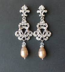 vintage wedding earrings chandeliers bridal chandelier earrings wedding jewelry vintage