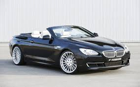 black convertible bmw bmw 6 series convertible gets makeover hamann style