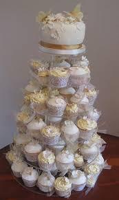 wedding cupcake tower cupcake wedding cakes iced magic cakes
