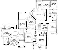 six bedroom house plans floor plan plan bedroom house inlaw luxury floor lvl