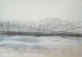 carla moss charcoal drawings