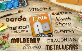 creative fonts creativity 1 selling logo software for over 15
