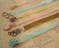 ribbon bookmarks everyday beauty bookmark bijoux