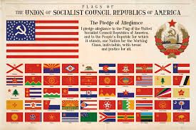 Maine State Flag National And State Flags Of Communist America By Regicollis On