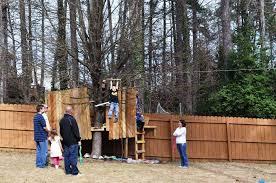 best backyard zip line kits home design inspirations