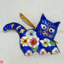 China Wholesale Christmas Decorations by Aliexpress Com Buy Wholesale 10pcs Chinese Cloisonne Enamel Cat