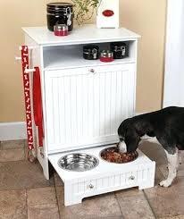 Food Storage Cabinet Dog Food Storage Cabinet Diy Pet Food Storage Cabinet With Bowls