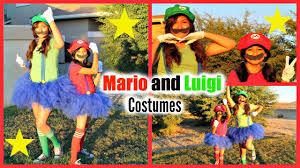 Mario Halloween Costumes Girls Halloween Costume Tutorial Mario Luigi