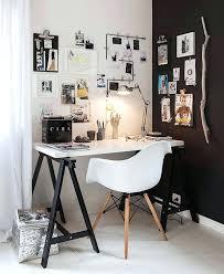 Minimalist Corner Desk Desk Black And White Desktop Printer White And Black Wallpaper