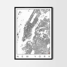 Map Art City Art Posters Map Posters And Art Prints Gifts For City