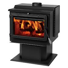 50 Sq Ft Shop Summers Heat 2400 Sq Ft Wood Burning Stove At Lowes Com