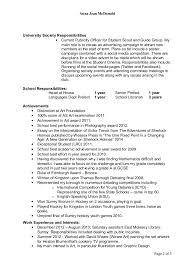 Mcdonalds Job Description Resume by Cv Anna Jean Mcdonald 20 May 2014