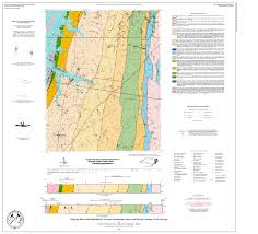 Map Of Western North Carolina Nc Deq Open File Reports And Maps