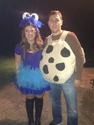 best couples halloween costume cookie monster and cookie ideas