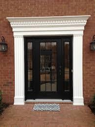 Exterior Door Casing Replacement Front Door In East Cobb Atlanta Curb Appeal