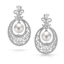 boucle d oreille mariage 56 best earrings wedding boucles d oreilles de mariée images on