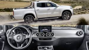mercedes truck white 2018 mercedes x class power interior exterior and test drive