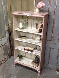 this is a vintage bookshelf with cute small cabriole legs shabby