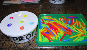 fine motor skills color recognition game mess for less