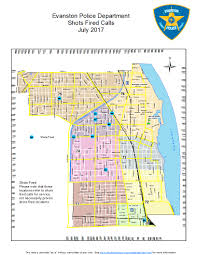 Chicago Police Beat Map by Incident Maps City Of Evanston