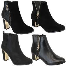 womens chelsea boots chelsea boots womens kelsi shoes suede look block heel