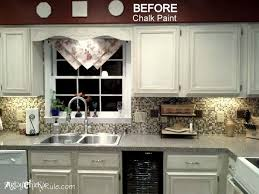 Image Of Chalk Paint Kitchen Cabinets Images With Chalk Paint - Pros and cons of painting kitchen cabinets with chalk paint