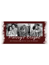 christmas came early holiday pregnancy announcement card
