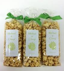 popcorn favor bags gourmet popcorn baby shower favor bags handmade at pop central