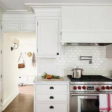 backsplash tile for white kitchen white glazed kitchen backsplash tiles design ideas