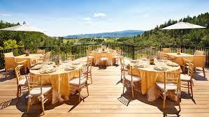 best wedding venues in napa valley food wine