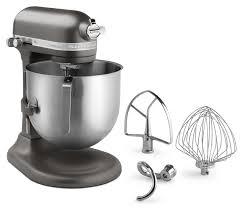 Kitchen Aid Mixers by Kitchenaid Ksm8990dp 8 Qt Commercial Bowl Lift Stand Mixer Dark Pewter