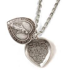 lord u0027s prayer pendant necklace n1242 sweet romance