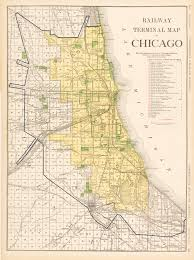 Maps Of Chicago Neighborhoods by File 1921 Railway Terminal Map Of Chicago By Rand Mcnally Jpg
