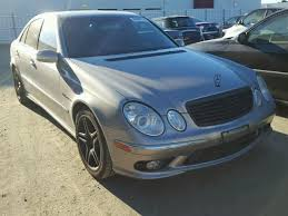 2003 mercedes e55 amg for sale wdbuf76j43a380658 2003 mercedes e55 amg 5 5 auction price