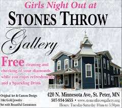 Home Design Gallery Waseca Mn Night Out Stones Throw Gallery St Peter Mn