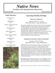 native plant society of new jersey download oct dec 2009 voice for native plants newsletter native