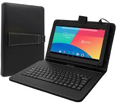 android tablets with keyboards contixo 10 1 tablet folio keyboard with stand universal pu