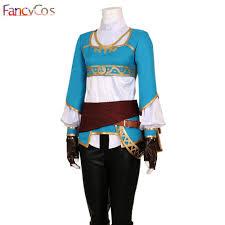 Princess Zelda Halloween Costume Shop Halloween Women Legend Zelda Breath Wild