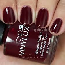 cnd vinylux fall 2015 contradictions collection swatches u0026 review