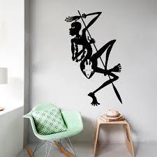popular african wall decals buy cheap african wall decals lots wall decals tribal african woman dancer africa vinyl sticker bedroom decor home living room art wall