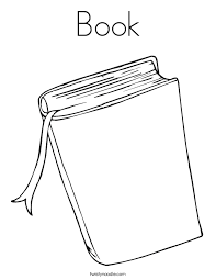 Book Coloring Page Twisty Noodle Books Coloring Page