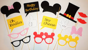 mickey mouse photo booth props disney photo booth props mickey birthday mickey mouse photo booth