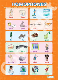 same words different meanings loegria which words are homophones