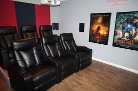 Home Cinema Rooms Pictures by Updated Diy Home Theater Movie Room W Epson 3020 Projector