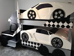 Car Beds For Girl Bedroom Bedroom Ideas For Girls Real Car Beds - Race car bunk bed