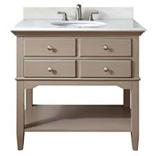 Distressed Bathroom Vanities Pegasus Cannes 36 In Vanity In Distressed Grey With Marble Vanity