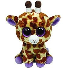 amazon ty beanie boos safari large giraffe toys u0026 games